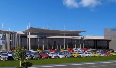 Sutherland Mazda - Exterior Street View