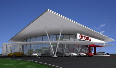 Melville Toyota - Exterior Front