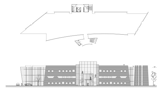 Triumph Ave Office - Drawing Elevation