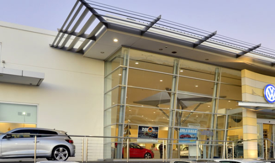 VW and Subaru Wangara - Exterior Front